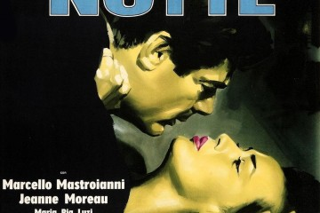 "Poster for the movie ""La Notte"""