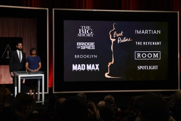 FULL LIST: Oscars 2016 Nominees