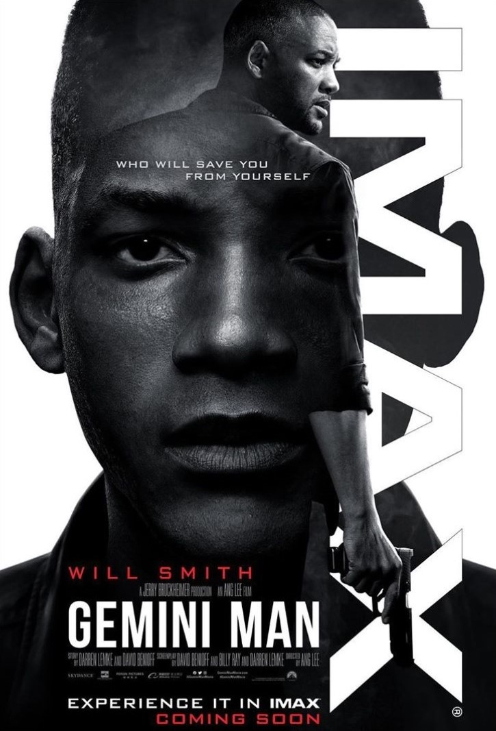Catch Will Smith in this action-packed thriller 'Gemini Man' this October 9