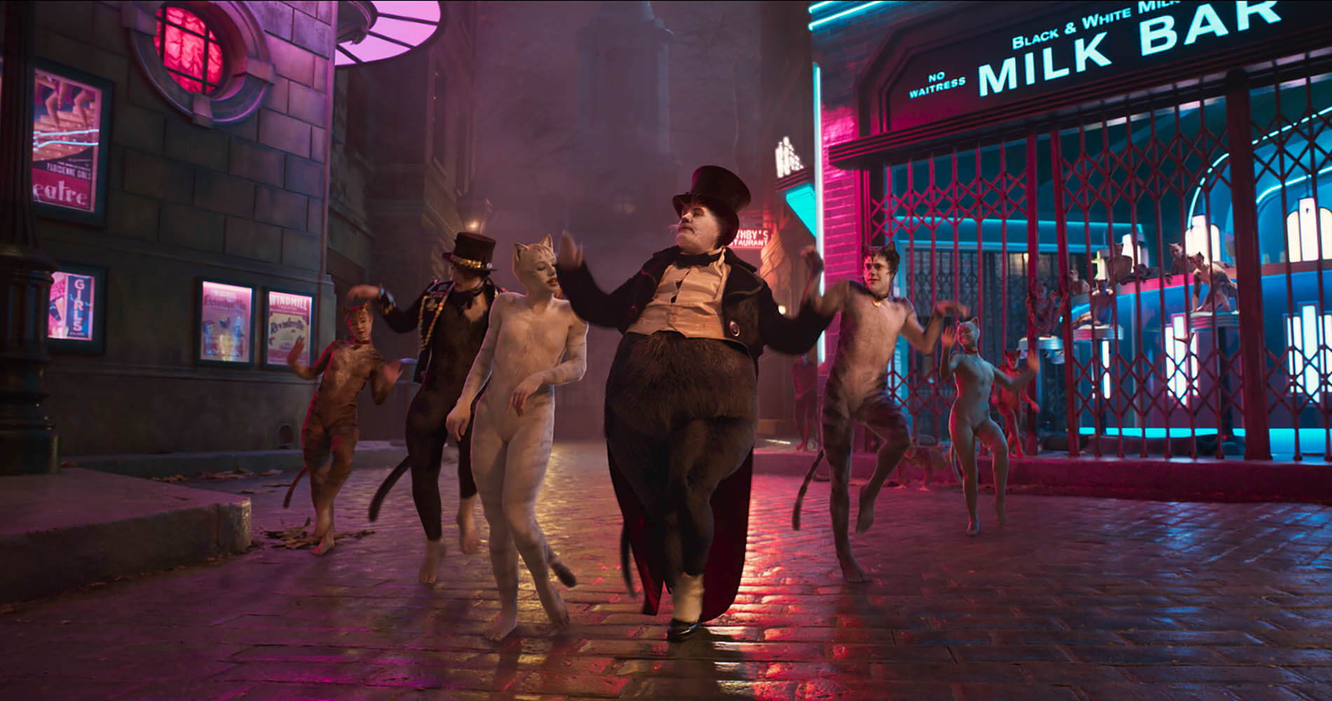 Creepy no more, the newest trailer for 'Cats' the movie kinda looks more real