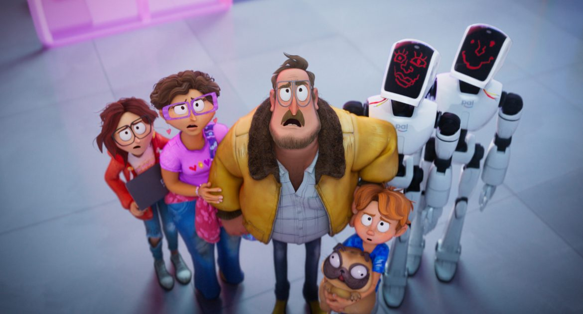 The Mitchells vs The Machines trailer is here! Can this family save the world from robot apocalypse?
