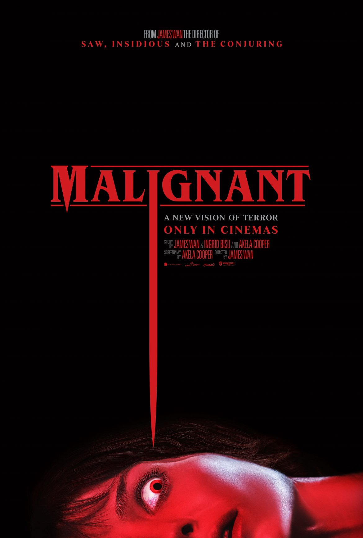 'Malignant' is James Wan's latest foray back into the Horror genre releases it's new trailer